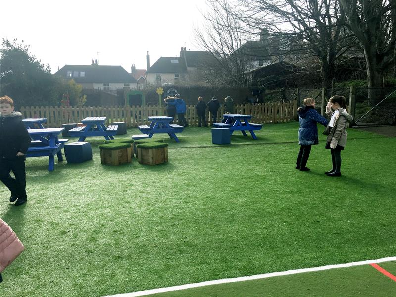 Outdoor Moveable Seating Area