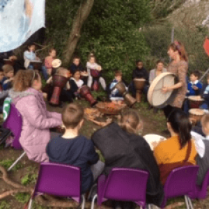 Story Telling in the Wooded Area
