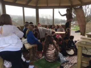 Storytelling in the Magic Pavilion