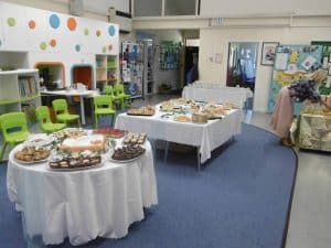 50th Anniversary Celebrations tea