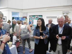 50th Anniversary Celebrations visitors