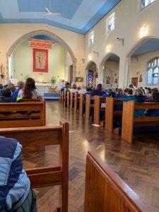 Community Mass at OLOL church